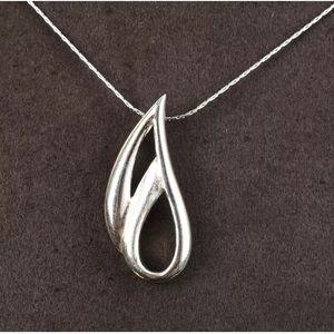 Sultan Ottoman Modern Design Silver Necklace